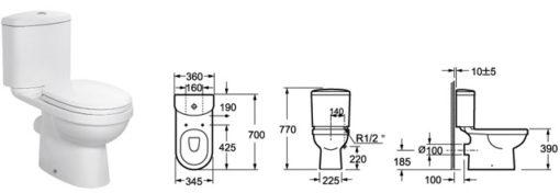 Toilet - ZRJ-1276 2