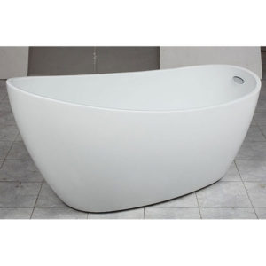Free-Standing-Free-Standing-Bath-tub-acrylic-E-140-ZRJ-Bathroom-and-Kithcen-White 1