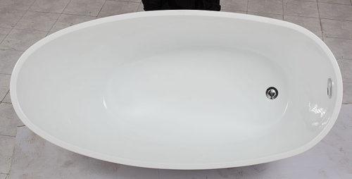 Oval Bath E-140-Black 2