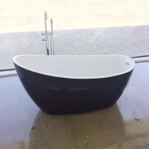 Oval Bath E-140-Black 3