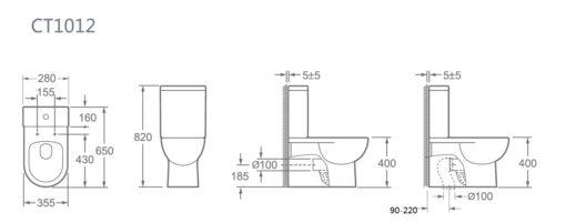 Toilet - ZRJ-1012P 2