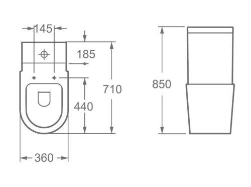 Toilet - ZRJ-1088S 1