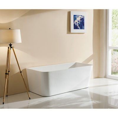 Free-Standing Bath(Back to Wall)