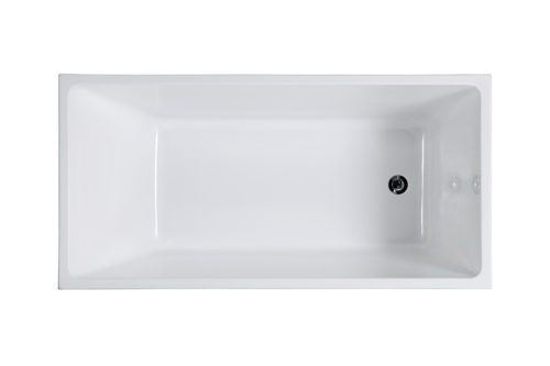 Free Standing Bath M710 Top View