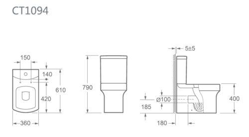 CT-1094 ZRJ Bathroom spec