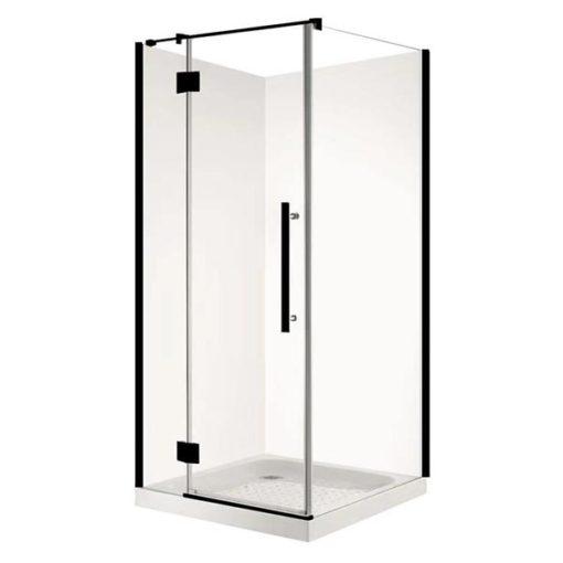 Square Matt Black Shower
